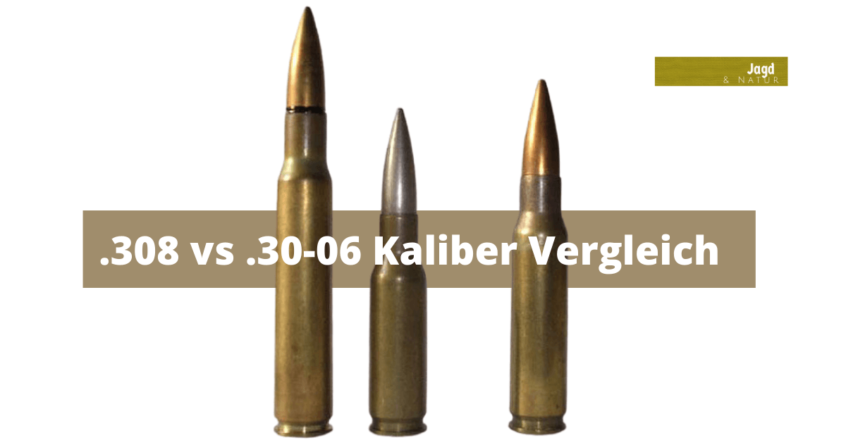308 vs .30-06 Kaliber Vergleich