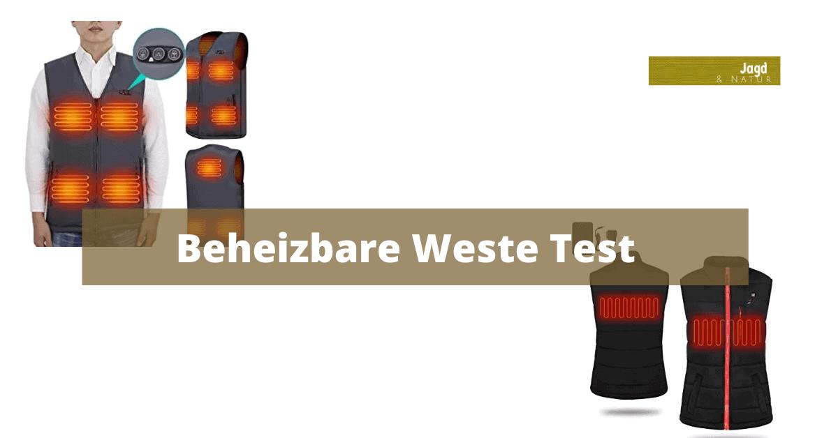 Beheizbare Weste Test