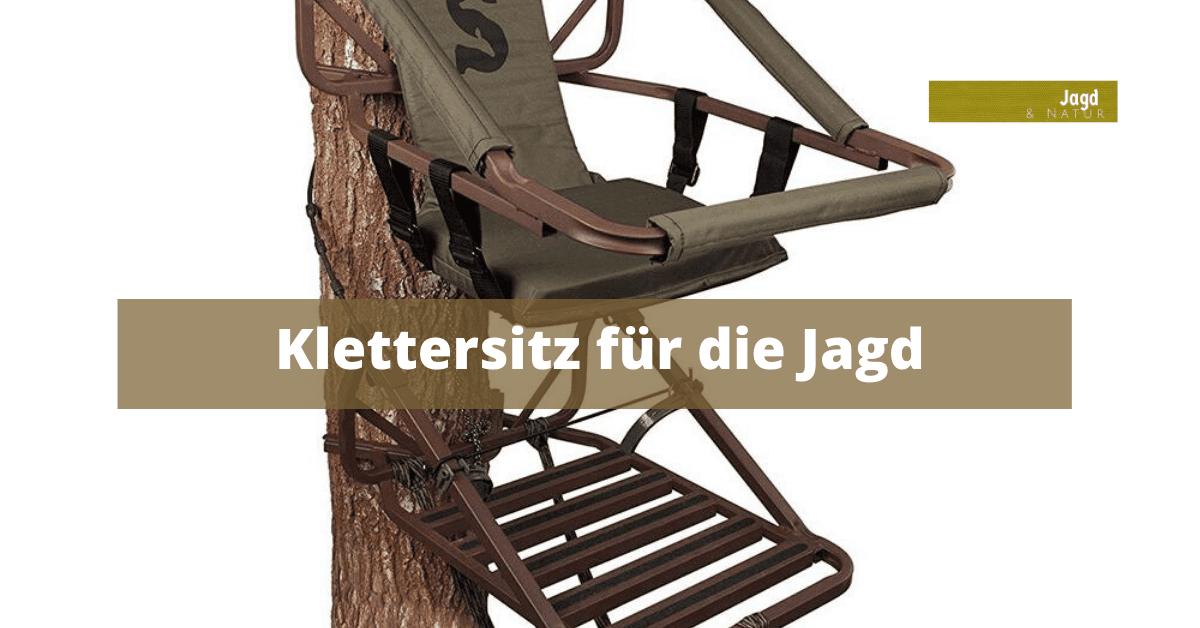 Klettersitz für die Jagd