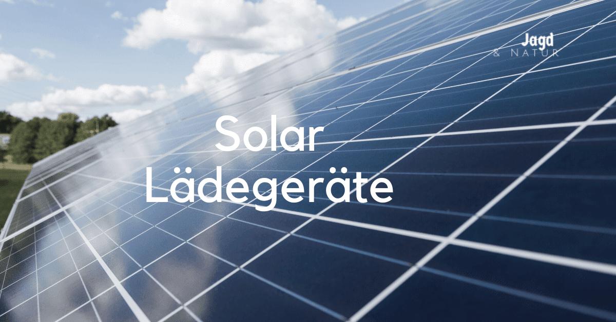 solar lädegeräte