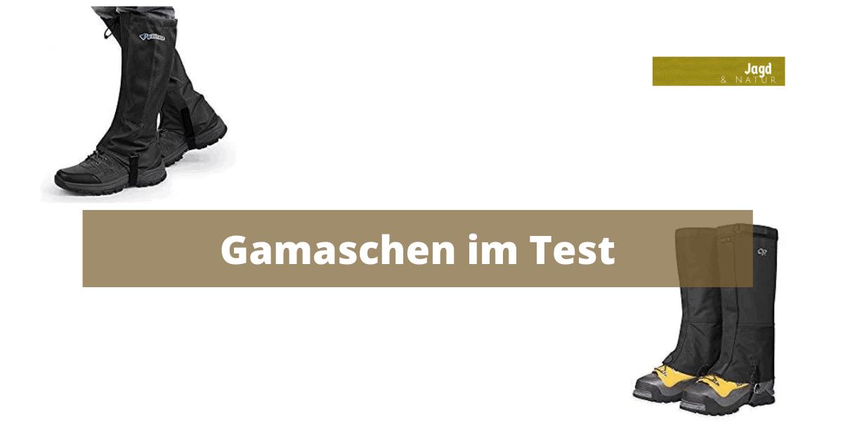 Gamaschen im Test