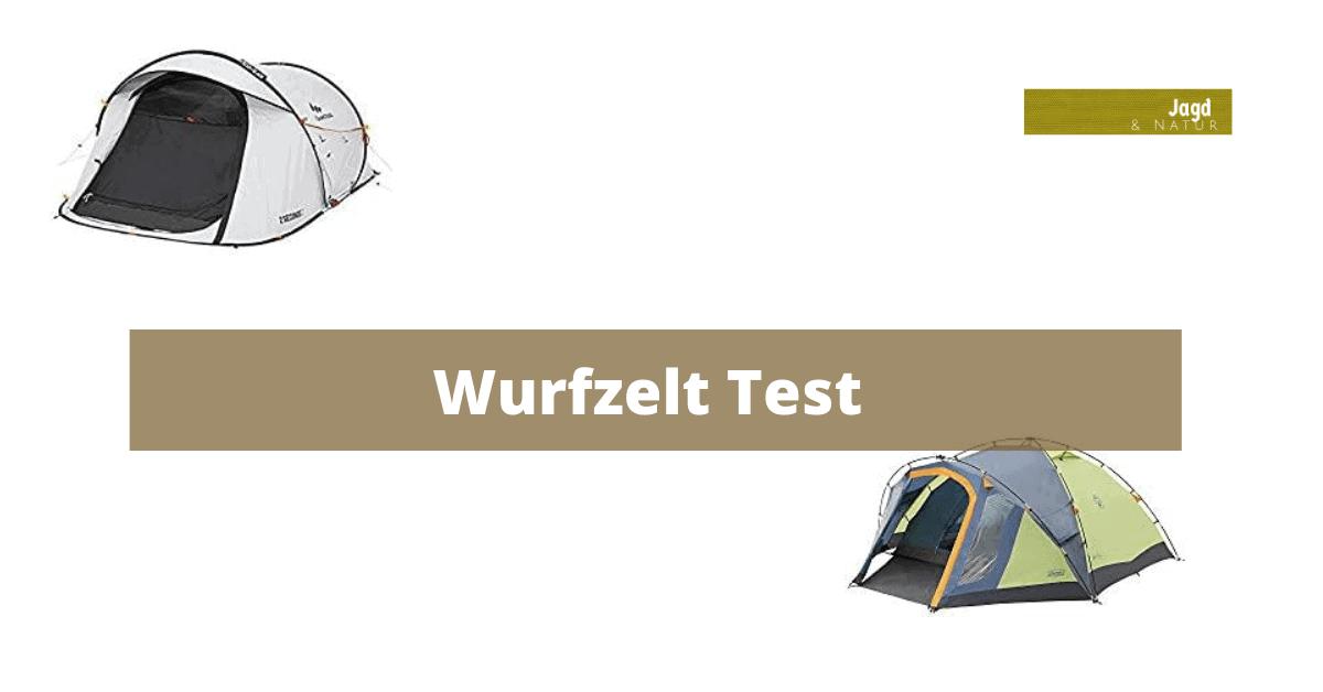 Wurfzelt Test